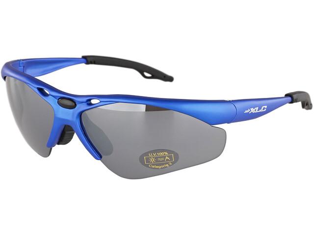 XLC Tahiti SG-C02 Glasses, blue/mirrored